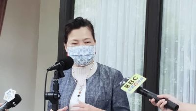 王美花邀「國民女婿」共進晚餐 籲民眾力挺餐飲愛店