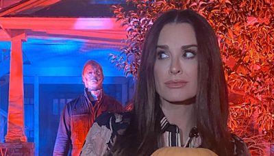 We're Loving Kyle Richards' Halloween-Inspired Manicure