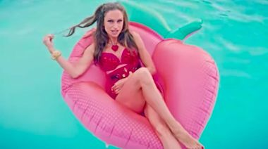 Lauren Hashian Releases New 'Ride the Wave' Music Video Featuring Husband Dwayne Johnson and Daughter