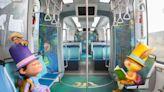 淡海輕軌下月慶週歲!3幾米主題列車可愛啟航