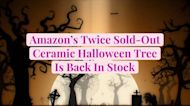 Amazon's Twice Sold-Out Ceramic Halloween Tree Is Back In Stock