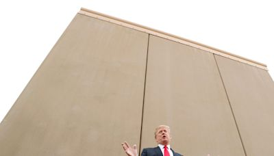 White House returns $2 billion from Trump's border wall funds to the military. The former president built 52 miles, at an average cost of $46 million per mile.