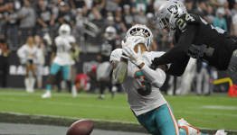 Miami's offense is sputtering, and Dolphins suddenly sliding