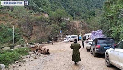 陝西洪災 一央企金礦湧入泥石流 4人遇難