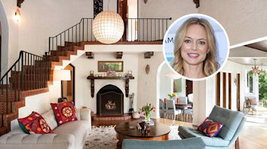 Heather Graham Lists Canyon-side Home in Hollywood Hills