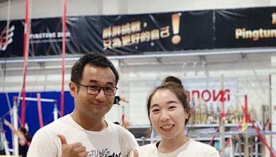 屏東縣教師表揚 全中運五金體操林岑寧獲頒優秀教練