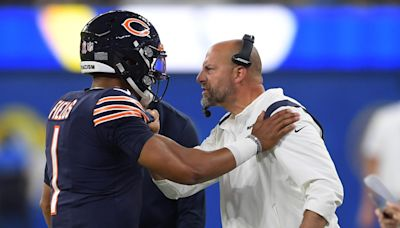 Bears fans are worried Matt Nagy is going to ruin Justin Fields