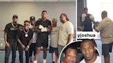AJ trains with Mike Tyson's ex coach in huge hint he could split from McCracken