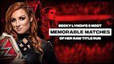 Becky Lynch's 5 Best Raw Women's Title Matches