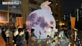 7米高月球現九龍各個屋邨 | 社會事