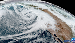 """Bomb cyclone and """"atmospheric river"""" to see Northern California flood after drought"""