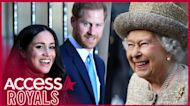 Prince Harry & Meghan Markle Asked The Queen To Name Daughter Lilibet Despite Claims