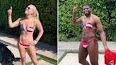 Lindsey Vonn's Boyfriend P.K. Subban Wore Her Bikini on the Fourth of July