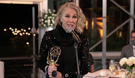 Catherine O'Hara Scores Second Career Emmy, Thanks Dan and Eugene Levy For Letting 'Schitt's Creek' Character...