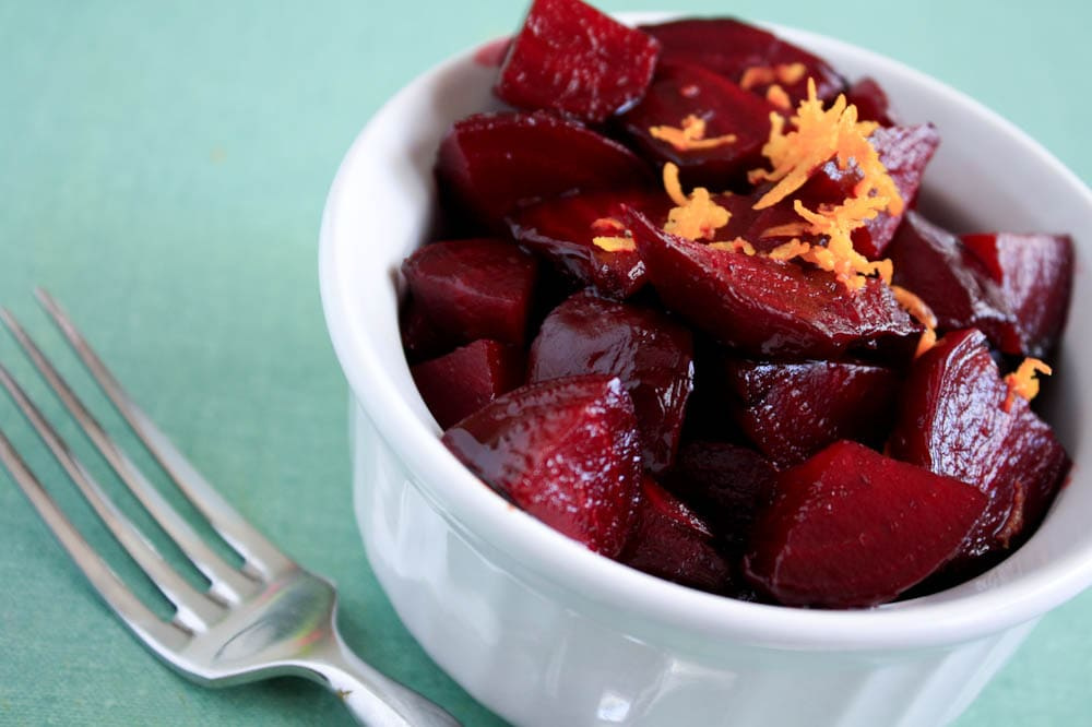 Roasted Beets n Orange