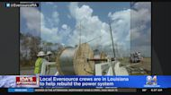 Local Eversource Crews Are In Louisiana To Help Rebuild The Power System