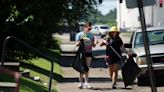 Neighbors, businesses help with Great Evansville Clean-up