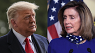 Nancy Pelosi's message to Trump as he leaves office: 'Man up'
