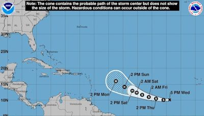 Tropical Depression 18 forms in Atlantic, could become Hurricane Sam this weekend, forecasters say