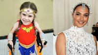 Disabled Wonder Woman fundraiser, 6, finally speaks to 'inspiration' Gal Gadot
