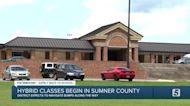 Sumner County Schools begin in-person, virtual classes