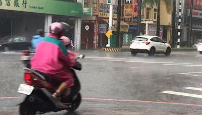 快新聞/中秋雨彈來襲! 全台13縣市發布豪、大雨特報