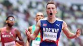 【東京奧運】飛越400公尺、10座柵欄只花45秒 挪威天才選手衝破世界紀錄奪下金牌--上報