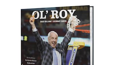 Celebrate the career of UNC coach Roy Williams with our limited-edition book