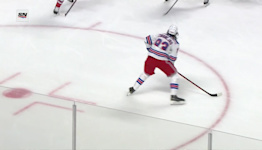 a Goal from Montreal Canadiens vs. New York Rangers