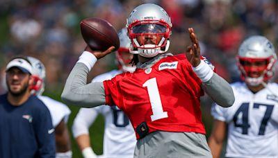 Patriots QB report: Cam Newton posts best practice of camp; Mac Jones scuffles