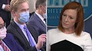 Peter Doocy asks Psaki about White House refusal to give migrant numbers
