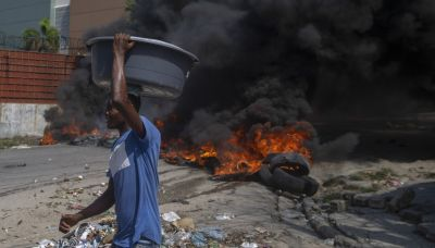 Strikers protest Haiti's lack of security after kidnappings
