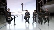 First civilian crew to attempt earth orbit in SpaceX ship