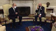 Biden, Israeli PM discuss 'threat from Iran'