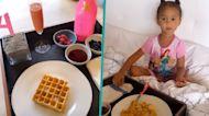 Chrissy Teigen & John Legend Celebrate Luna's 4th Birthday With Breakfast In Bed
