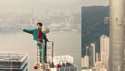 張敬軒首賣演唱會NFT,亞洲歌手史上首人登上246米高避雷針拍攝