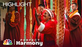 "Bollywood Carols Mashup: ""Joy to the World/Santa Claus Is Coming to Town"" - Perfect Harmony"