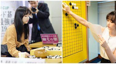 天生美人!黑嘉嘉「被封千年一遇美女棋士」紅到日本 罕曬父女同框照「15歲清秀稚嫩模樣」曝光❤️