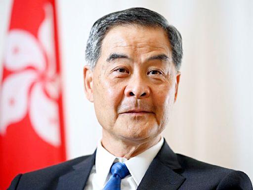 梁振英警告:長期不通關 全香港人埋單