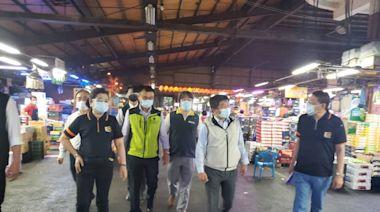 陳時中視察三重果菜市場 新北果菜千名承銷商已接種疫苗   焦點   NOWnews今日新聞