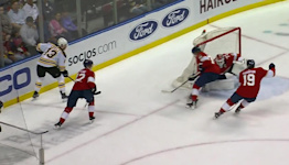 Charlie Coyle with a Goal vs. Florida Panthers