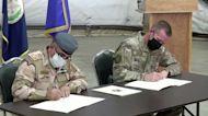 U.S.-led troops withdraw from Iraq's Taji base