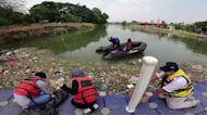 In Indonesia, medical waste floods Cisadane River