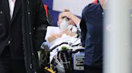 Denmark's Eriksen stable, awake after Euro 2020 match collapse