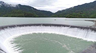 5月底蓄水率不到8% 南化水庫現已今年第3度自然溢洪