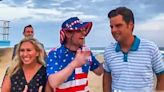 'People think you're a pedophile!' Matt Gaetz accidentally poses with prankster for beach photo