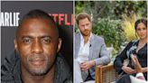 Idris Elba defends Meghan and Harry's interview with Oprah: 'You can't take someone's voice away'