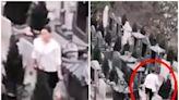 女子收集墓地水果供品 疑販賣圖利