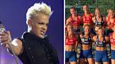 Pink ofrece pagar multa de selección noruega femenil de balonmano por no usar bikinis