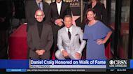 Hollywood Walk Of Fame Star Honoring Daniel Craig Unveiled